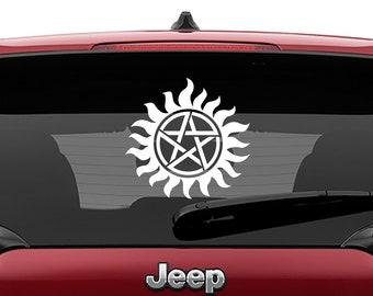Supernatural Anti Possession Symbol Decal   Anti Possession Symbol Decal Tumbler Decal   Supernatural Symbol Laptop Decal