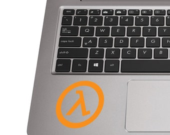 Half Life Vinyl Decal | Half Life Tumbler Decals | Half Life Laptop Decal