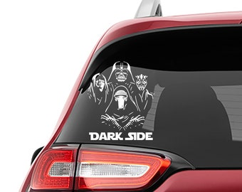 Star Wars Inspired  Bohemian Rhapsody Black Sith Lords Vinyl Decal