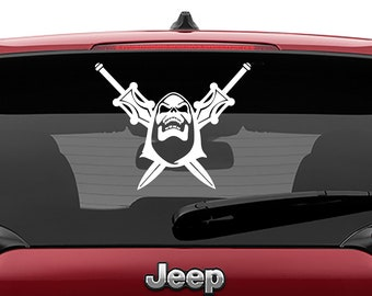 Masters of the Universe Skeletor with Swords of Eternia Vinyl Decal