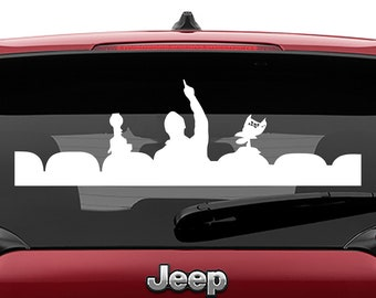 Mystery Science Theater 3000 Decal | Mystery Science Theater 3K Tumbler Decal | Mystery Science Theater 3k Laptop Decal