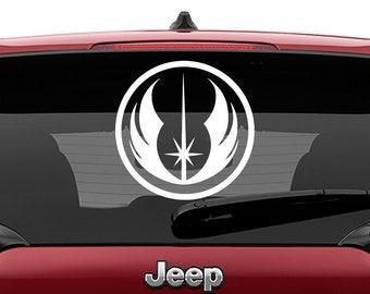 Star Wars Jedi Order Logo Vinyl Decal | Jedi Order Logo Tumbler Decals | Jedi Order Logo Laptop Decal