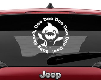 Baby Shark Doo Doo Doo Vinyl Decal | Baby Shark Doo Doo Doo Tumbler Decals | Baby Shark Doo Doo Doo  Laptop Decal