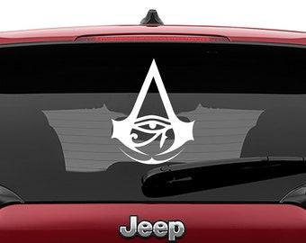 Assassins Creed Origins Vinyl Decal | Assassins Creed Origins Tumbler Decals | Assassins Creed Origins Laptop Decal
