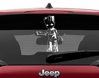 Teenage Groot Decal Sticker - Guardians of the Galaxy Decal Sticker - Laptop Sticker - Car Truck Vinyl Decal