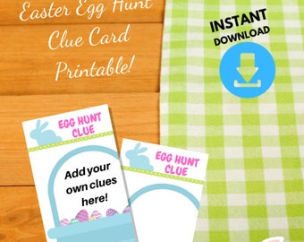 photo relating to Clue Cards Printable named Clue card printable Etsy