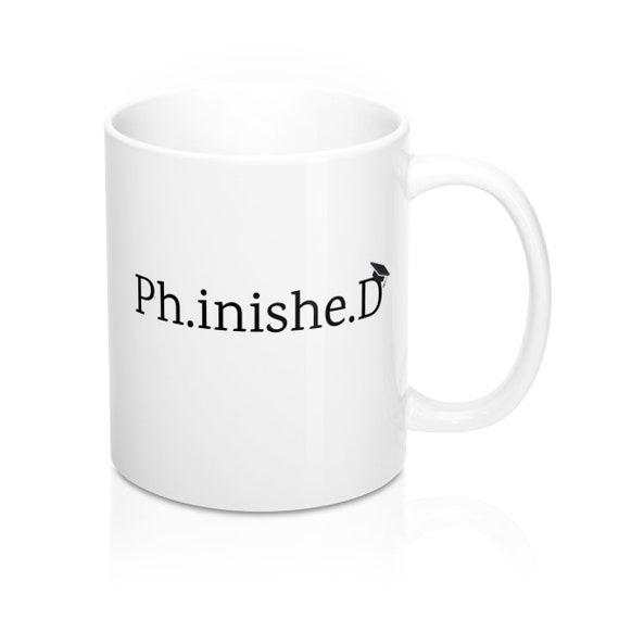 11-Ounce White Funny Guy Mugs Ph.inished Ceramic Coffee Mug