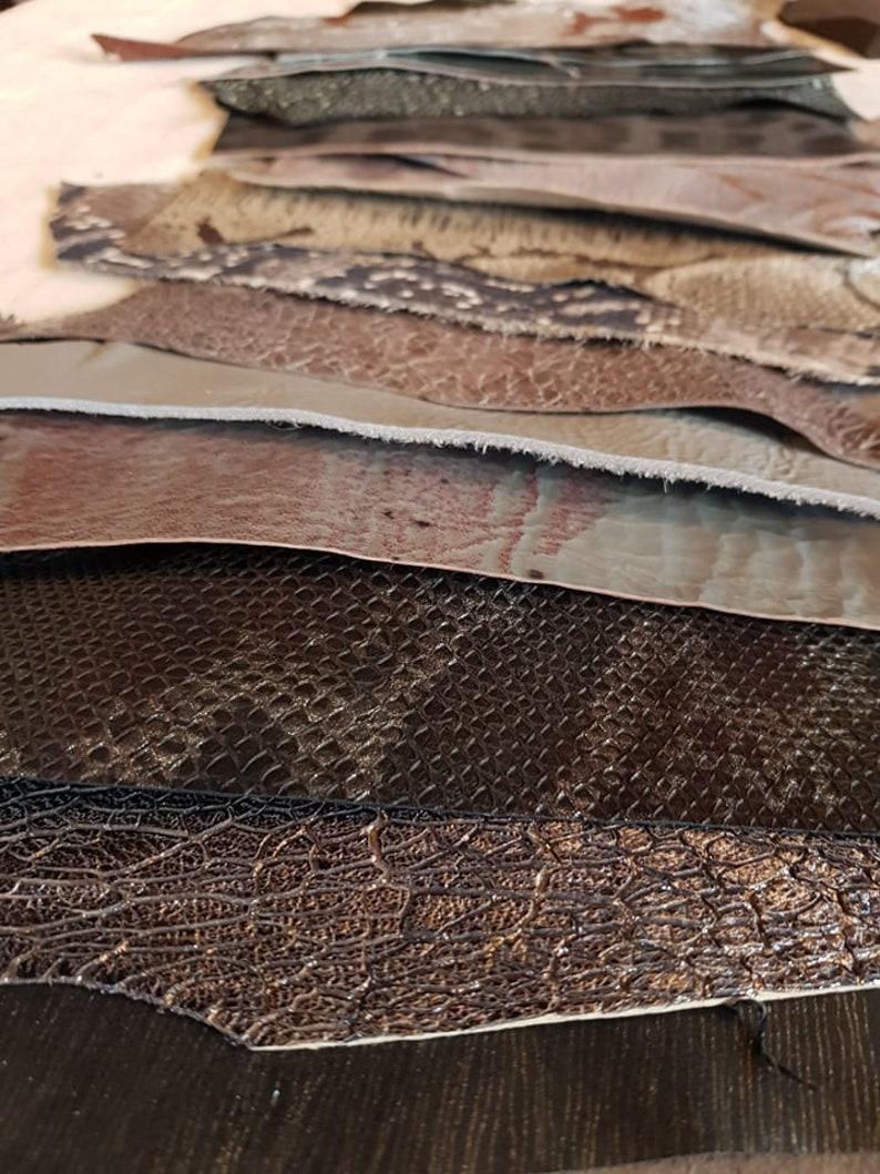 "10 pk bundle Cowhide leather lace Gray 1//4/"" X 6/'"