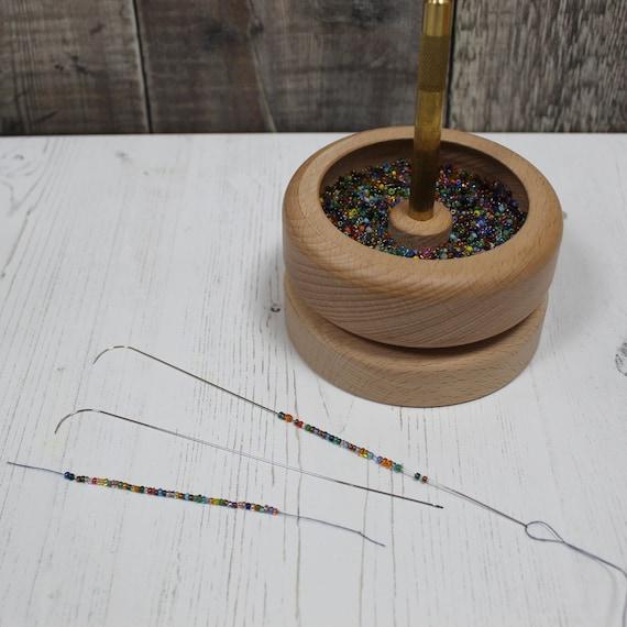 Nurge Jewellery Making Seed Bead Stringing Tool Beading Spinner Bowl