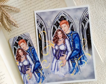 Lou & Reid Print/ Bookmark