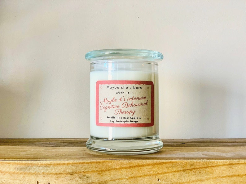 Intensive Cognitive Behavioral Therapy >> Intensive Cognitive Behavioral Therapy Soy Candle Etsy