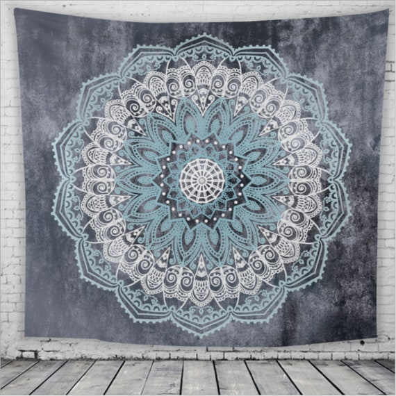 Ombre Tapestry Modern Artsy Bohemian Print Wall Hanging Decor