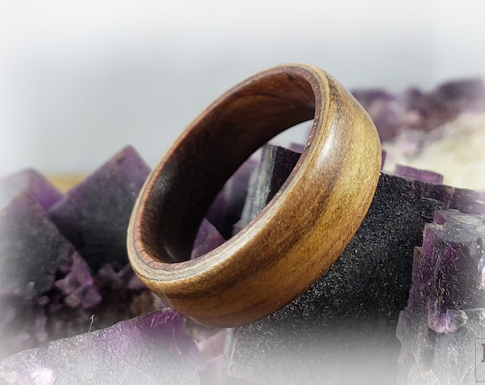 Bentwood Ring - American Sweetgum on Rosewood core