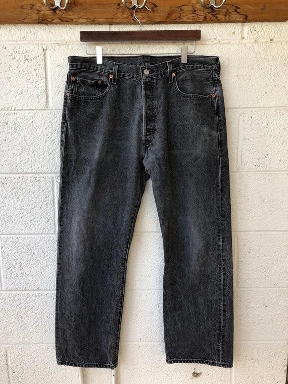 Sale Vintage 1990s Black Levi's Mom Jeans, Levis 5