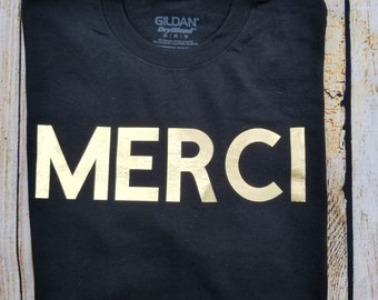 0d4284256 UNISEX Merci Graphic T Shirt