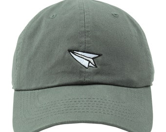 b2a150b1662f6 Dad Baseball Hat Travel Cap Embroidered Dad Cap Airplane Mode Hat Paper  Airplane Dad Hat Airplane Baseball Hat Travel Wanderlust Adventure