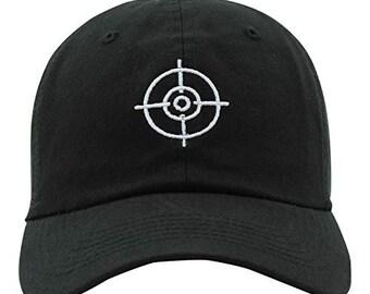 5ce68c396f0ca JPAK Target Embroidered Dad Hat Baseball Cap