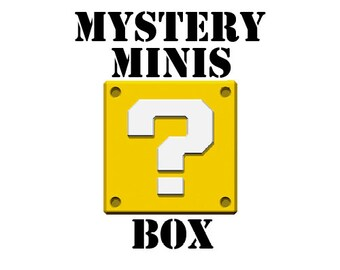 Mystery Minis Box - at least 4 items in each box!   Assorted Miniatures   Warhammer D&D Pathfinder   Free Shipping!