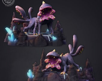 Demodogs   28mm Fantasy Miniature   Warhammer or D&D    Cast N Play
