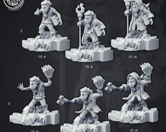 Briyur the Gnome   28mm Fantasy Miniature   Warhammer or D&D    Cast N Play