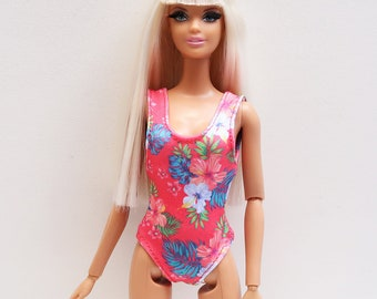 3f15cccdc282b Barbie Doll Clothes - Swimsuit Print Summer