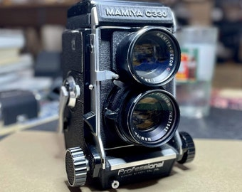 FILM TESTED Mamiya C330 105mm f3.5 Lens Film Camera