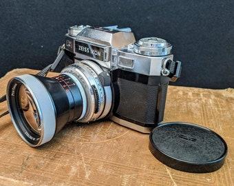 FILM TESTED Zeiss Ikon Contaflex Super B Film Camera, 35mm Lens