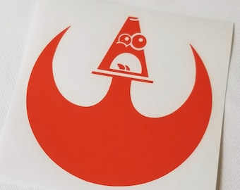 The Rebel Cone Vinyl Decal The HEAVY One