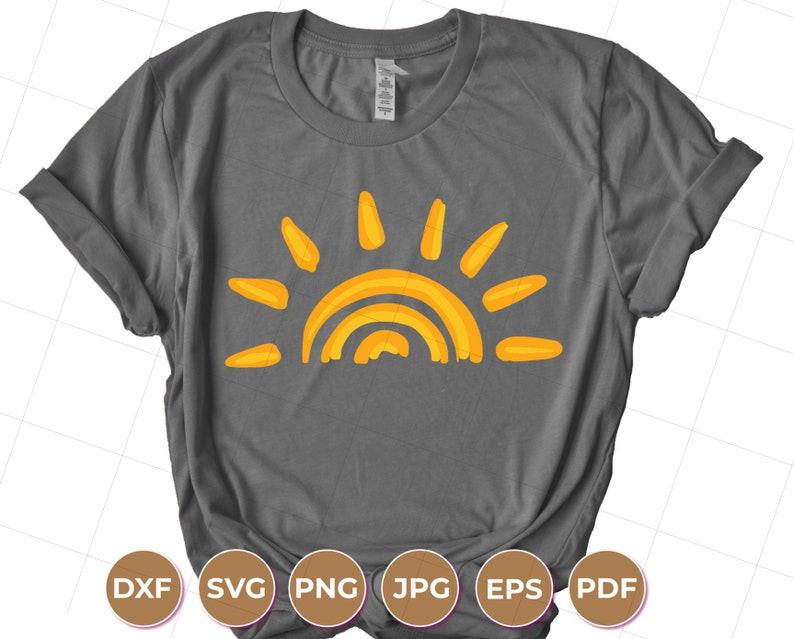 Sunset SVG, Sun SVG, Sunshine SVG, Svg Files for Cricut, Cricut Svg Files,  Cricut Svg, Digital Download