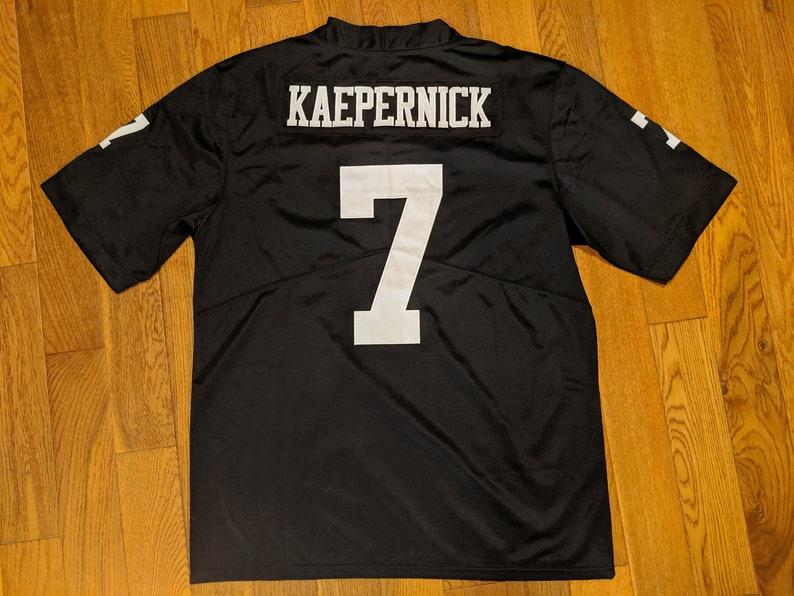brand new 0285c c8b16 Colin Kaepernick #IMWITHKAP I'm With Kap Jersey Large Size