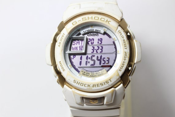 CASIO G-7700LV white gold Digital G-Shock resistan