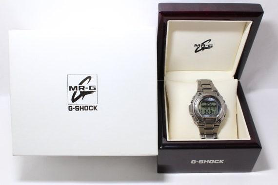 CASIO G-Shock MR-G MRG-200TZ Titanium watch Jazzy