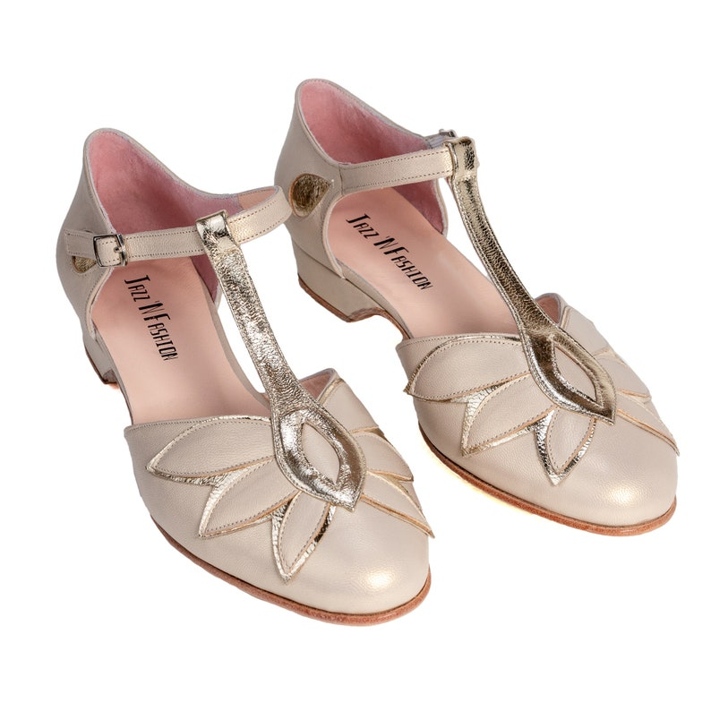 1930s Shoes – Art Deco Shoes, Heels, Boots, Sandals Custom - Retro Toshiko Swing Shoes $165.00 AT vintagedancer.com