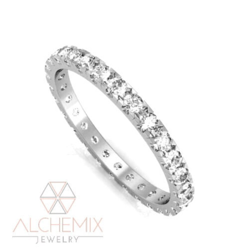 Silver Solitaire Engagement Ring Rhodium Finish 925 Hallmark