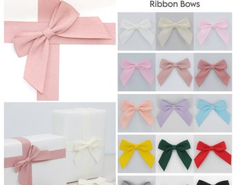 3m CHRISTMAS WHITE WIRED RIBBON BOWS GIFTS DECORATION CRAFTS WRAPPING 4cm