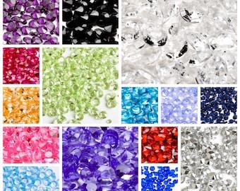 fc50b259bc88 Wedding Table Crystals 100g packs Scatter Decoration Diamond Acrylic  Confetti