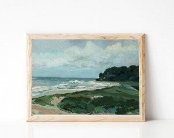 Landscape Painting Print,Landscape Art,Large Landscape Print,Nature Wall Art,Canvas Landscape Print,Landscape Painting, Livingroom Wall Art