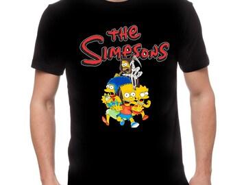 Simpsons Halloween Shirt.Simpsons Halloween Etsy