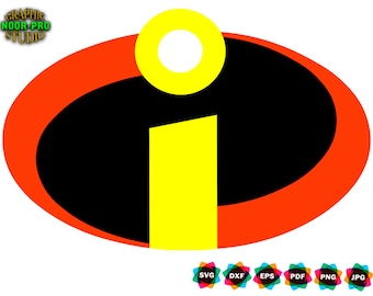 graphic about Incredibles Logo Printable referred to as Incredibles Etsy