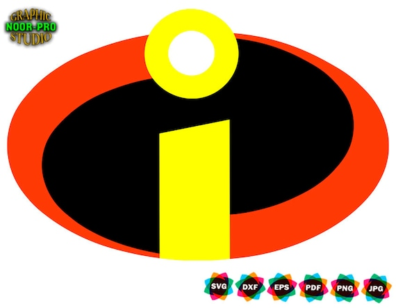 The Incredibles Logo Svg Instant Download Svg Png Dxf Etsy