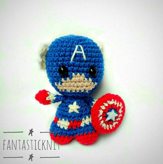 Captain America Amigurumi Pattern Free Crochet Avengers ... | 574x570
