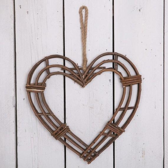 Colourful Beads Hanging Heart Valentine Wreath Drawer Knob Decoration Weddings