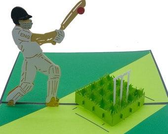 Cricket Pop Up Card/birthday card