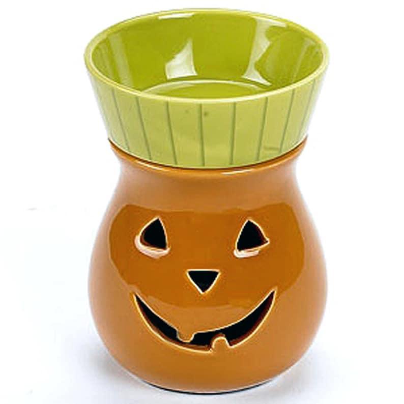Pumpkin Jack O'Lantern Candle Warmer Illumination Electric image 0