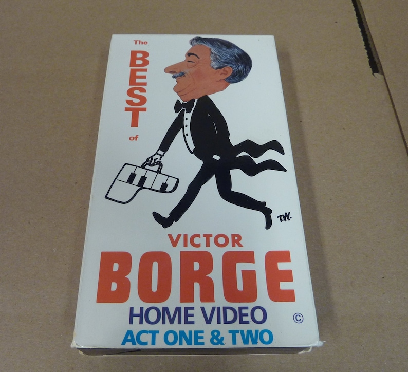 VHS Tape The Best of Victor Borge Act One and Two  Comedy  image 0