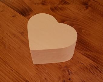 Mini Heart Shaped Ring Box