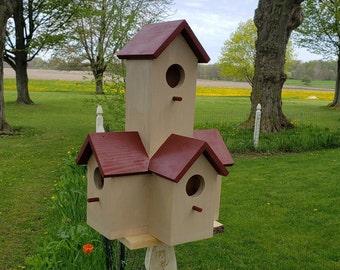Rustic Style Multi Birdhouse