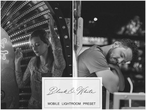 4 Best Seller Mobile Lightroom Presets, Film Preset, Instagram Presets,  Blogger Presets, Black and White Presets, Photo Editing