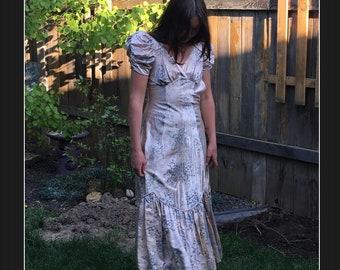 76e1dd91428 Vintage Hollywood Glam Evening Dress 1920 s