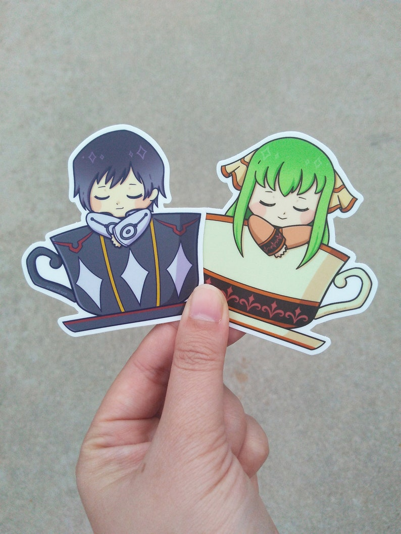Code Geass: Lelouch of the Resurrection Stickers